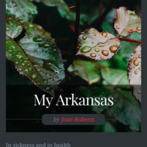 My Arkansas rain featured in eMerge
